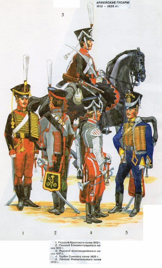 рядовой Елисаветградского полка